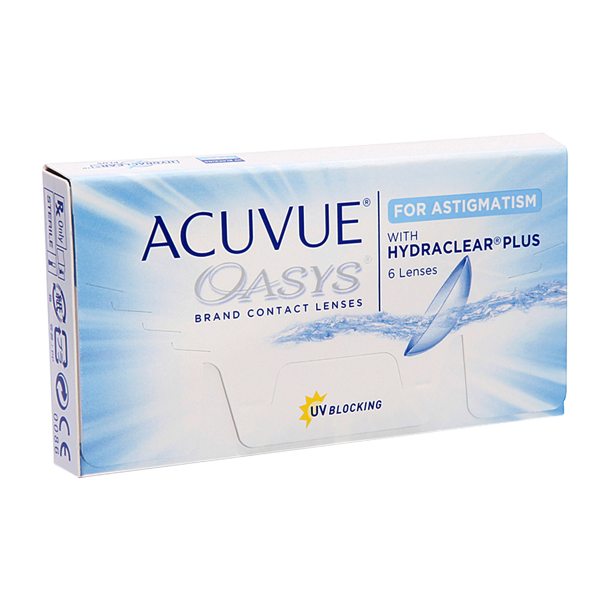 Acuvue Oasys for Astigmatism 6 lenses
